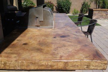 Stained Concrete Countertops Phoenix