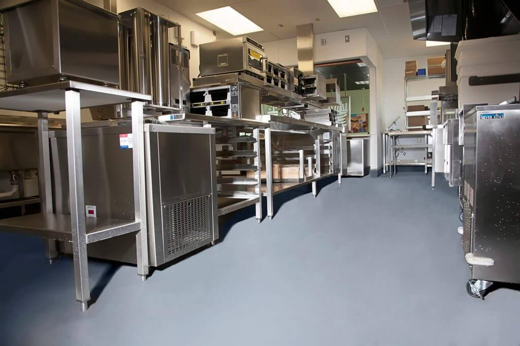 commercial kitchen epoxy floor coatings kitchen flooring epoxy stained concrete for 8280