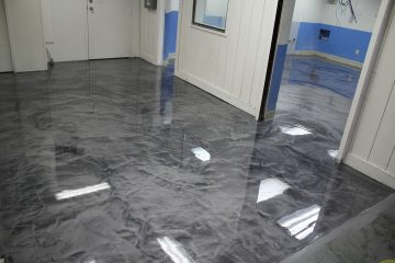 Commercial Concrete Coatings Metallic Epoxy