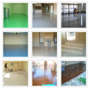 Polyurea and Polyaspartic Garage Floor Coatings