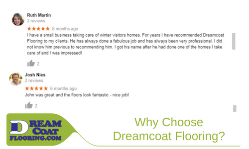 Why choose Dreamcoat Flooring?