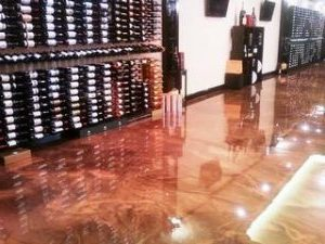Epoxy flooring for Restaurants and Stained Concrete flooring for Restaurants