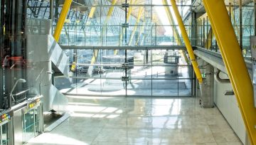 High Build Epoxy Floors for Airport Hangars