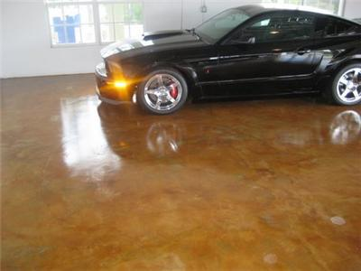 Stained Concrete Floors