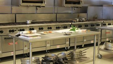 What is the best flooring for a commercial kitchen?