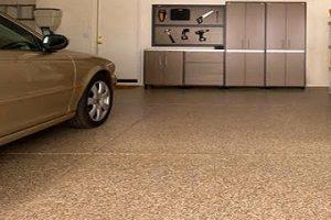 Resurfaced Garage Floor Coating Phoenix