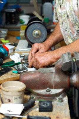 garage workshop & Dreamcoat Flooring Coatings