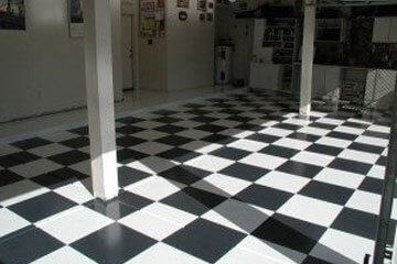 Garage & Driveway Epoxy Floor Design and Installation
