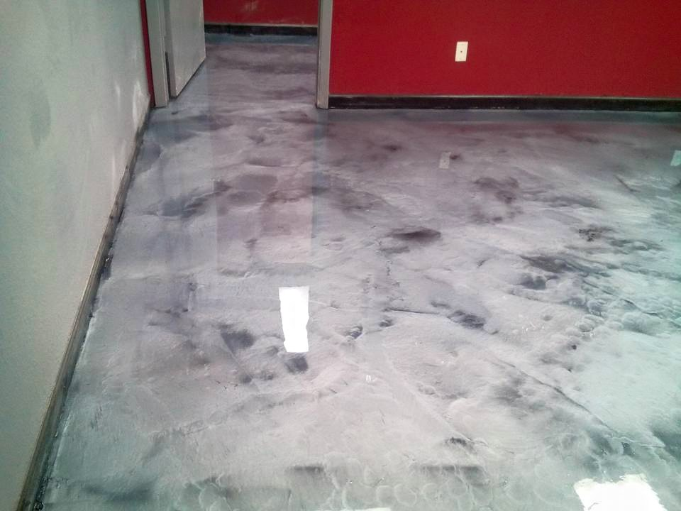 Metallic epoxy floor coating by Dreamcoat Flooring