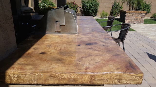 Concrete Countertops Phoenix | Acid Stained Concrete