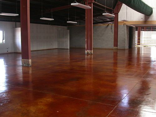 Stained Concrete Dreamcoat Flooring